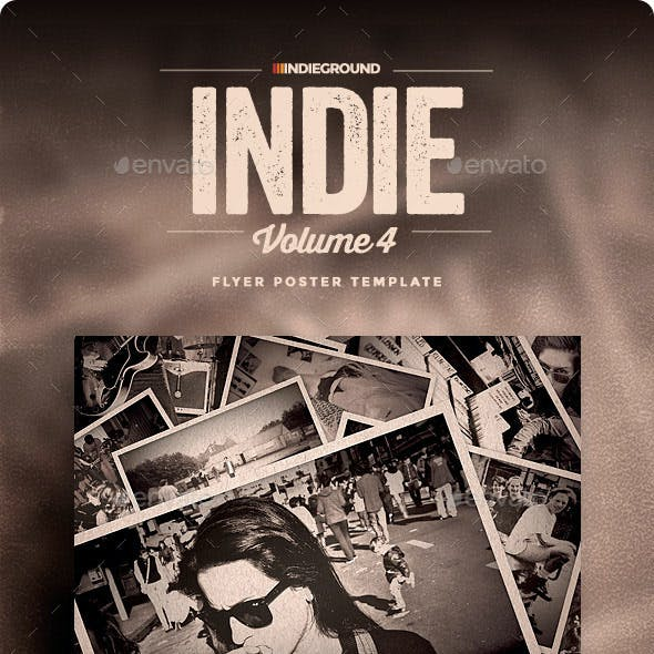 Indie Flyer/Poster Vol. 4