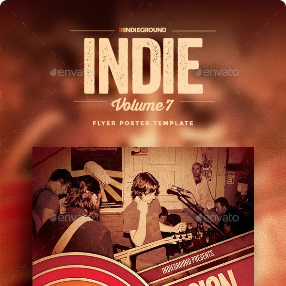 Indie Flyer/Poster Vol. 7