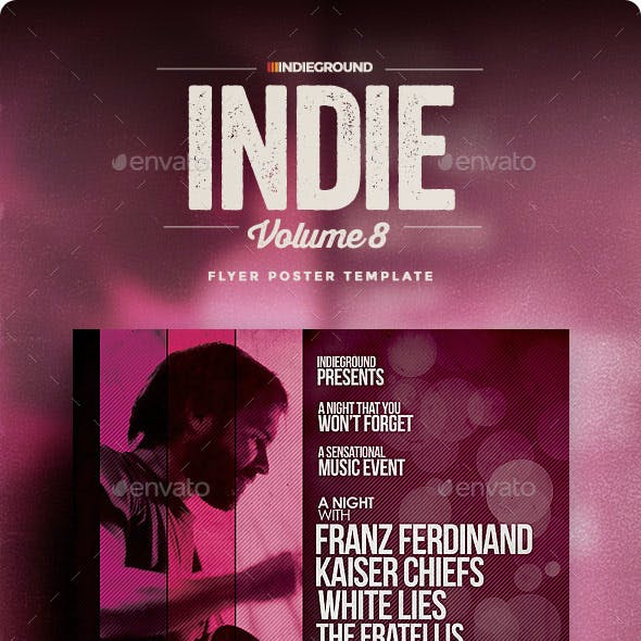 Indie Flyer/Poster Vol. 8