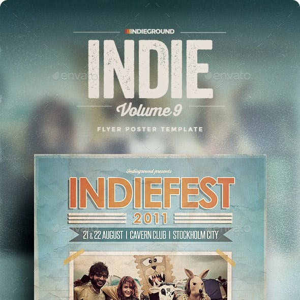 Indie Flyer/Poster Vol. 9