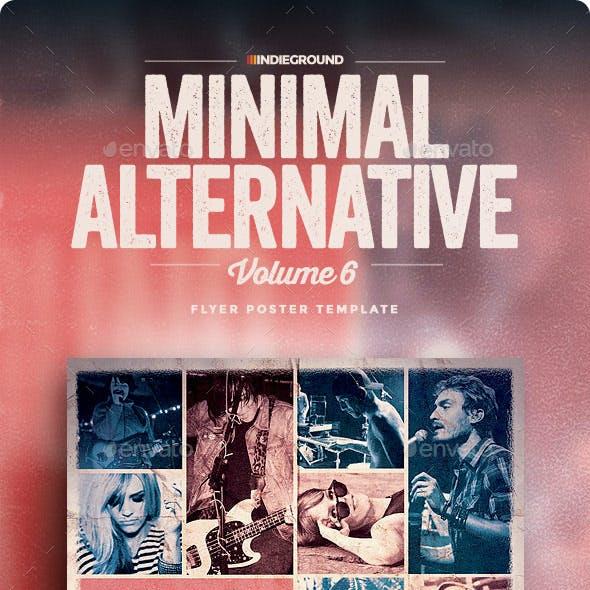 Minimal Alternative Flyer/Poster Vol. 6