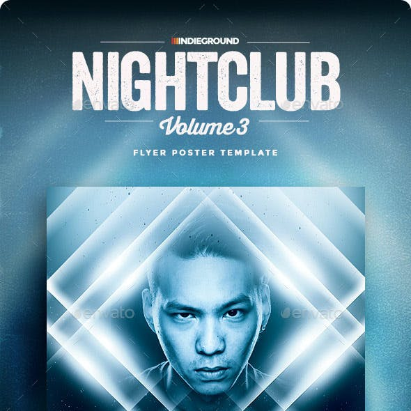 Nightclub Flyer/Poster Vol. 3