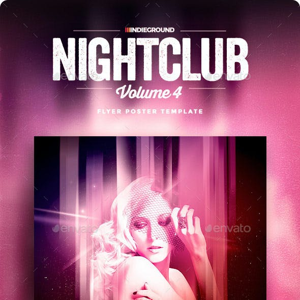 Nightclub Flyer/Poster Vol. 4