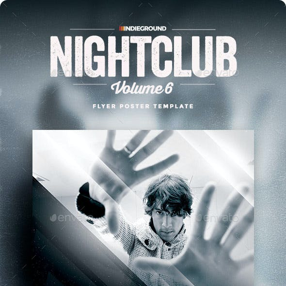 Nightclub Flyer/Poster Vol. 6