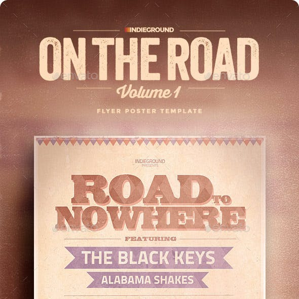 On The Road Flyer/Poster