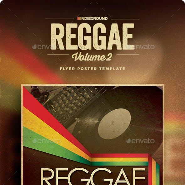 Reggae Flyer/Poster Vol. 2