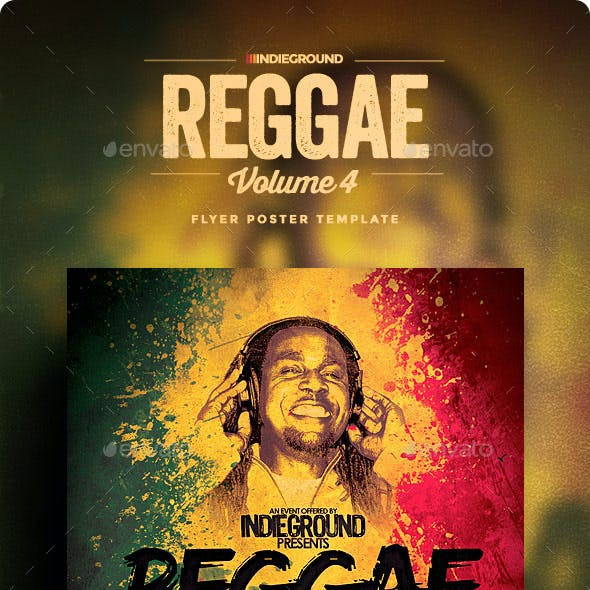 Reggae Flyer/Poster Vol. 4