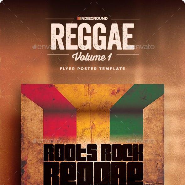 Reggae Poster & Flyer