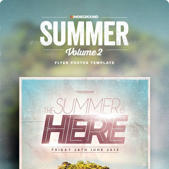 Summer Flyer/Poster Vol. 2