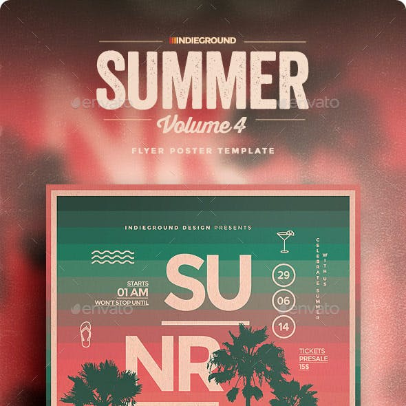 Summer Flyer/Poster Vol. 4