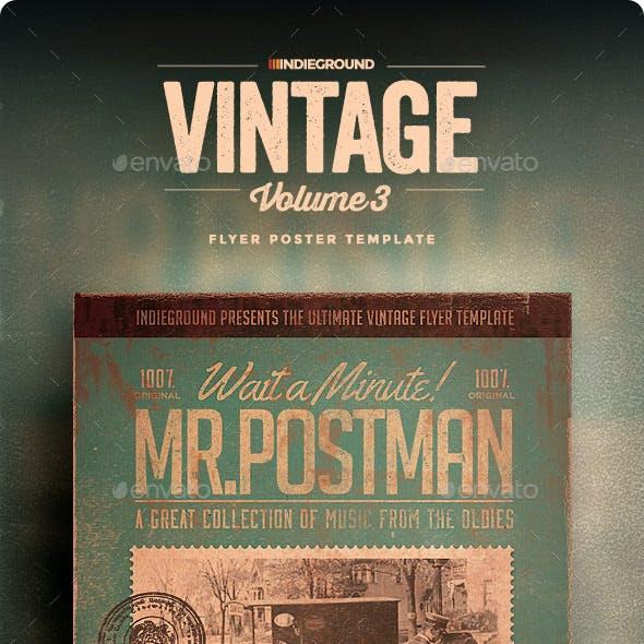 Vintage Flyer/Poster Vol. 3