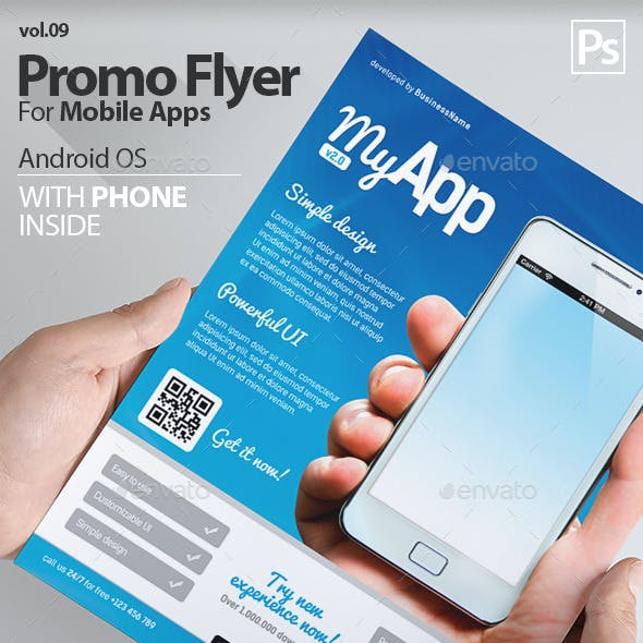 Mobile App Flyers 9