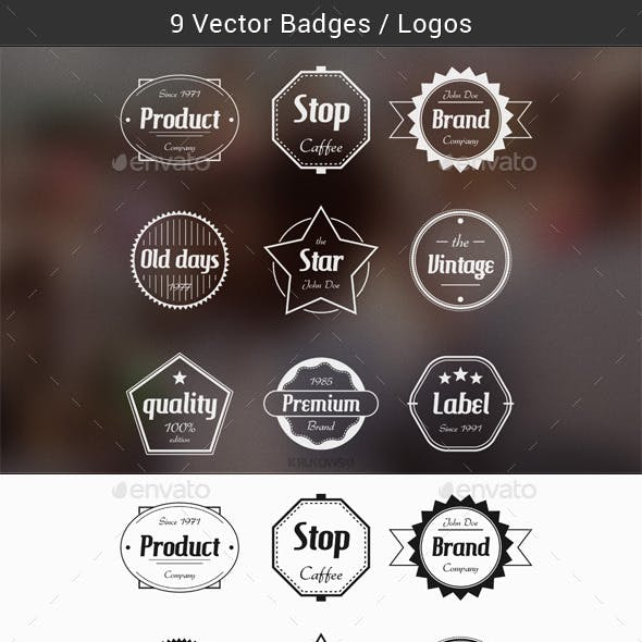 Badges Vector Templates