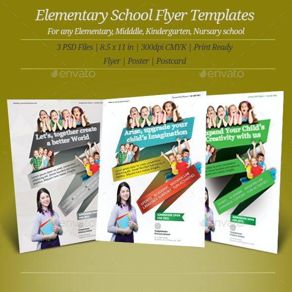 Elementary School Flyer Templates