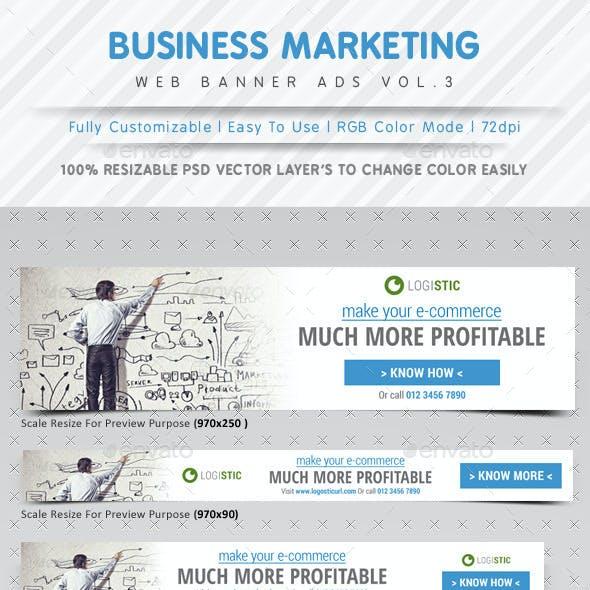 Marketing Web Banner Ads Vol.3