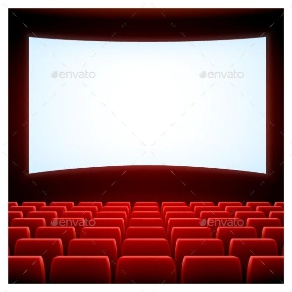 Cinema Theatre - Miscellaneous Vectors