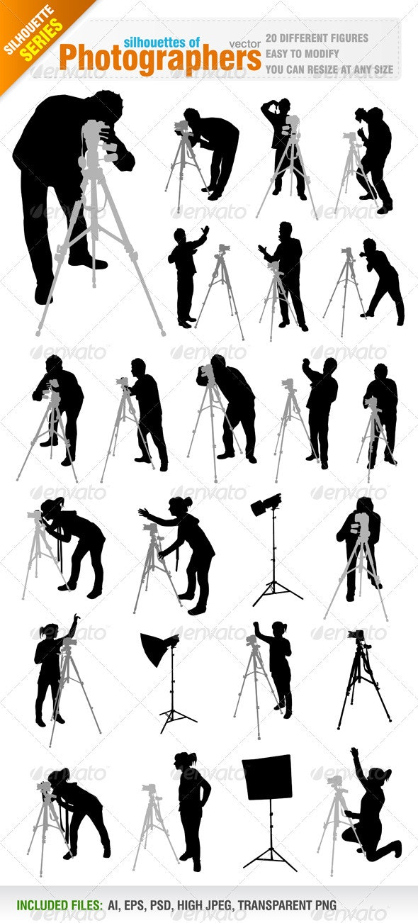Photographers - People Characters