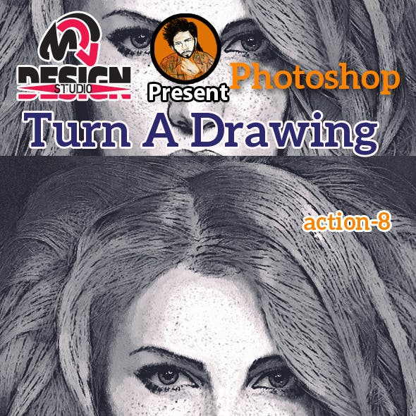 Turn A Drawing Action