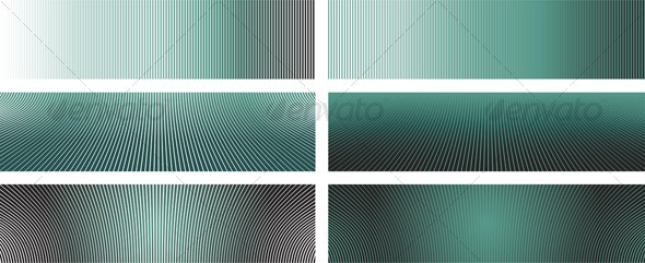 Fast Lines Banners - Backgrounds Decorative