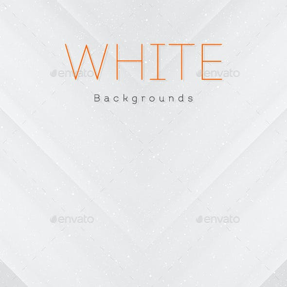White Abstract Backgrounds V2