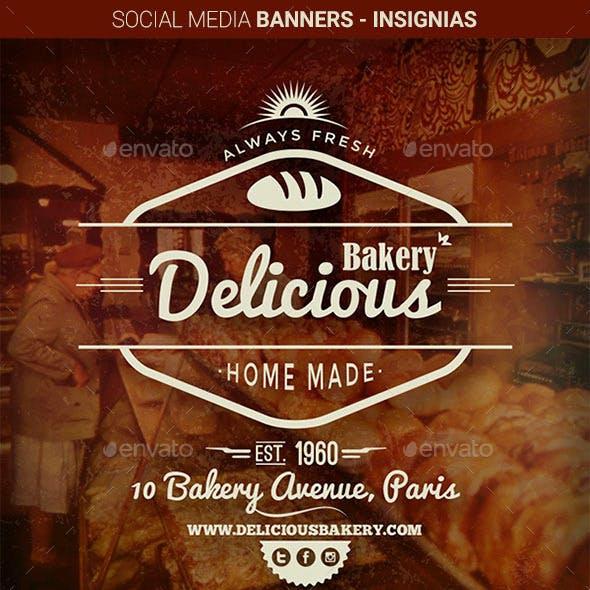 Social Media Banners - Insignias