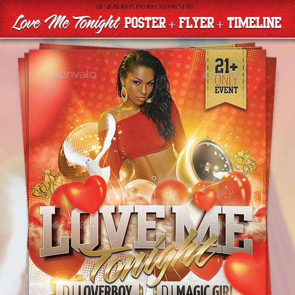 Love Me Tonight Poster And Flyer