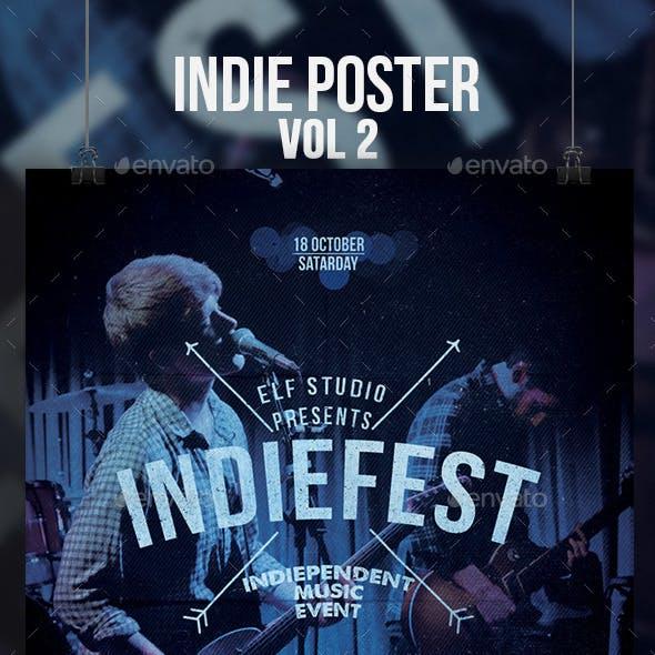 Indie Flyer/Poster Vol 2