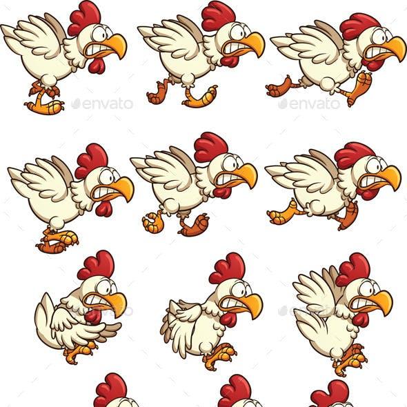 Chicken Sprites