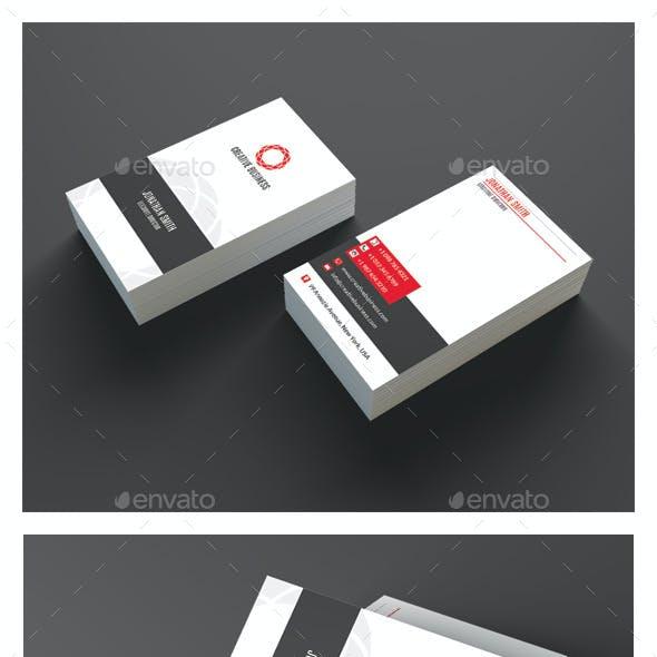 Modern Corporate Business Card AN0504