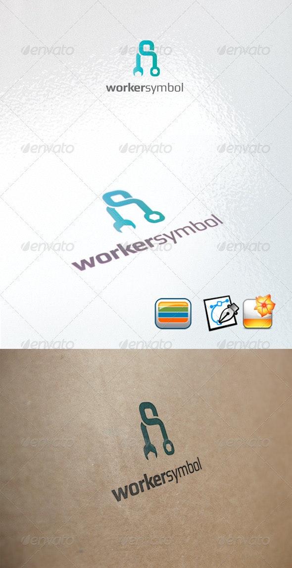 workersymbol - Humans Logo Templates
