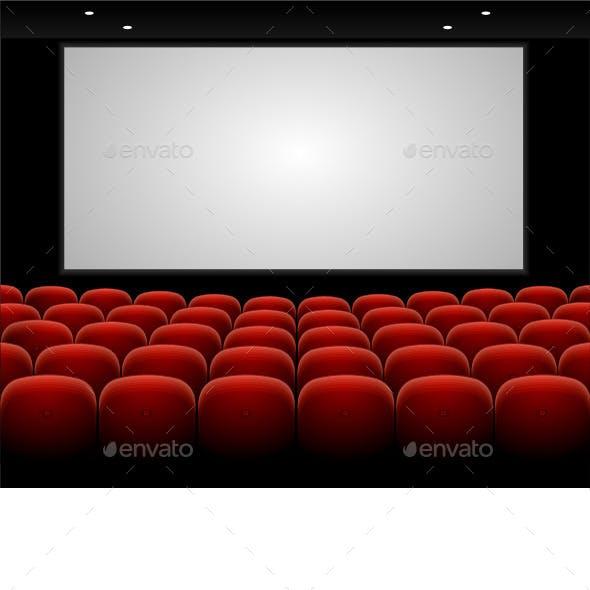Red Cinema Theatre Seats