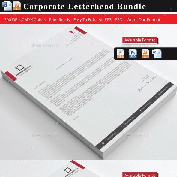 Corporate Letterheads Bundle