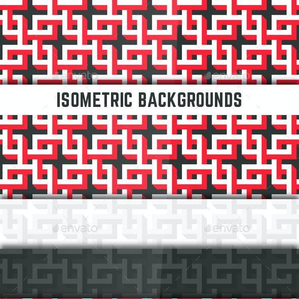 Isometric Backgrounds