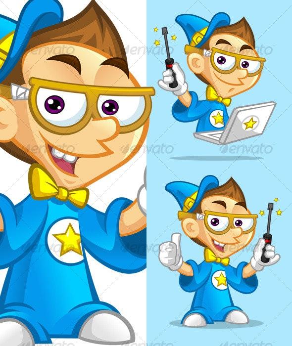 Geek Repair Wizard - People Characters