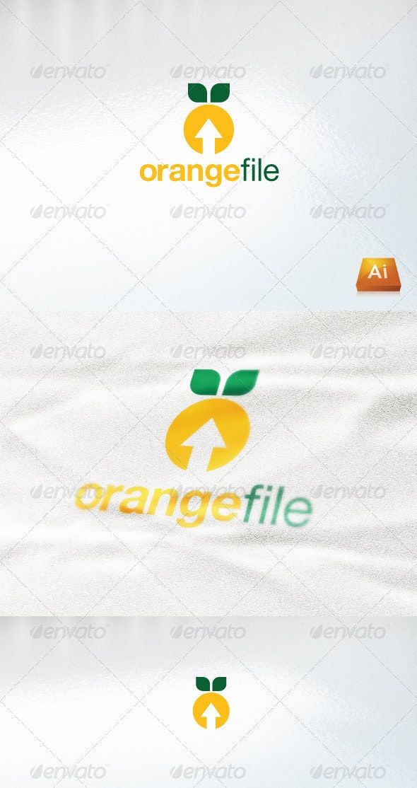 Orangefile - Abstract Logo Templates