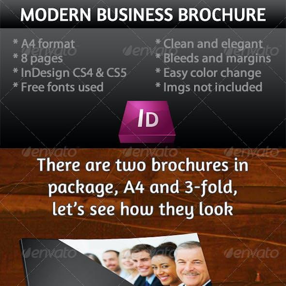 Business Brochure (A4+ 3-Fold)