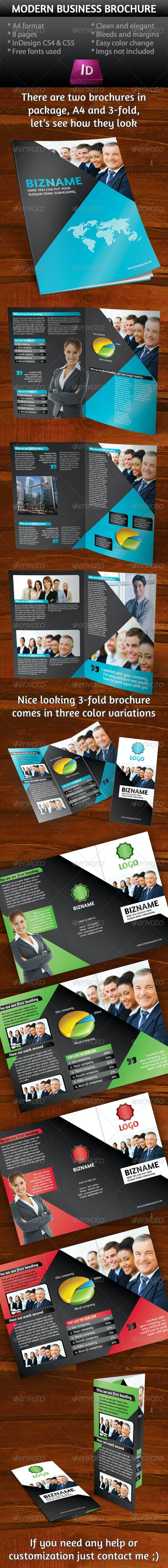 Business Brochure (A4+ 3-Fold) - Corporate Brochures