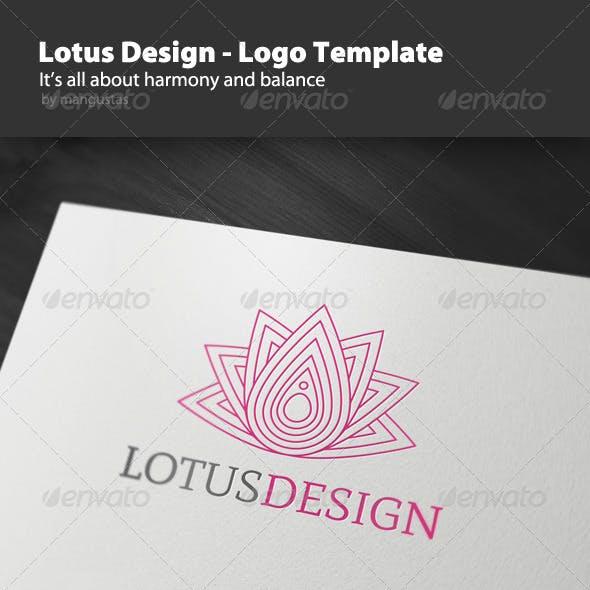 Lotus Design - Logo Template