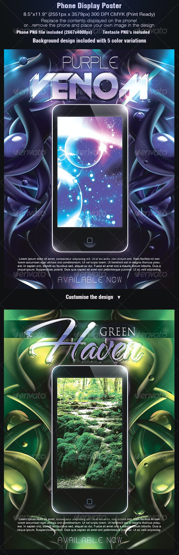 Phone Poster Template - Commerce Flyers
