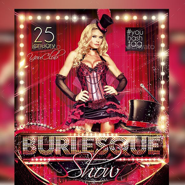 Flyer Burlesque Konnekt
