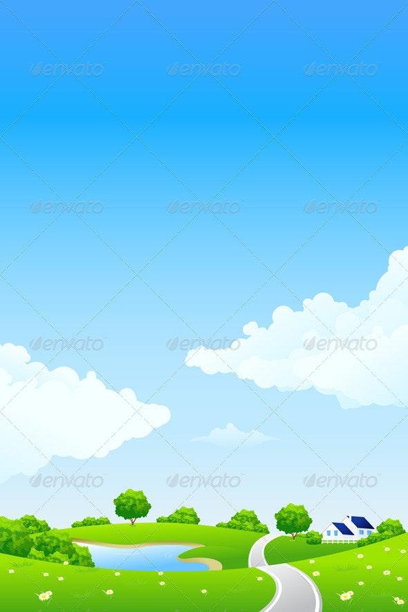 Green landscape - Landscapes Nature