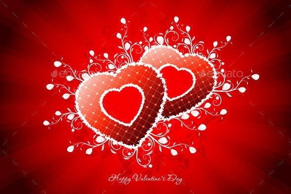 Valentines Day Greeting Card - Valentines Seasons/Holidays