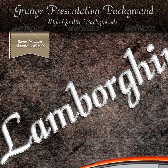 Grunge Presentation Backgrounds