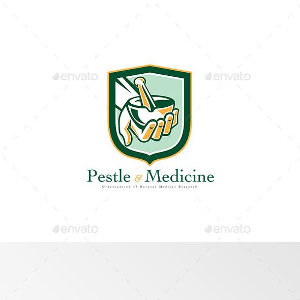 Pestle and Medicine Medical Research Logo