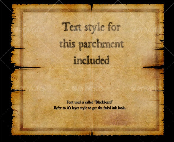 Parchment - Miscellaneous Backgrounds