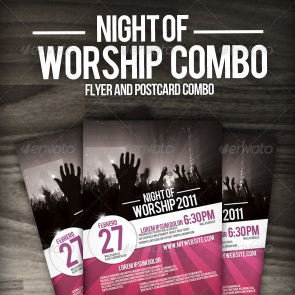 Night of Worship set