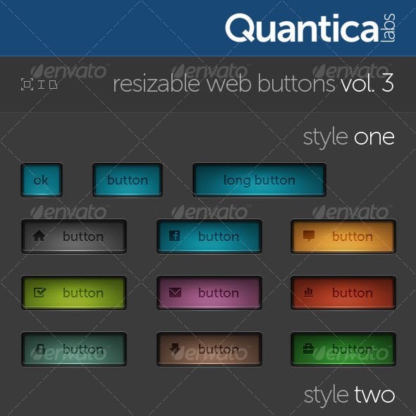 Resizable Web Buttons #3
