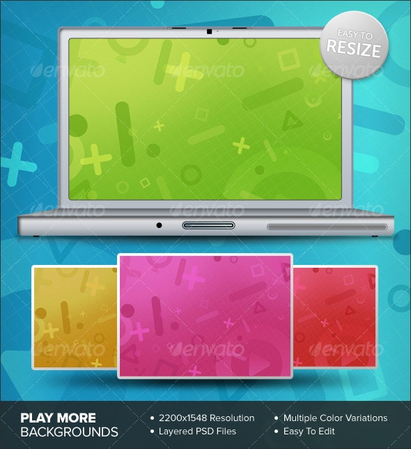 Play More Backgrounds - Backgrounds Graphics