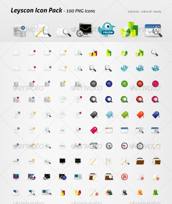 Leyscon Icon Pack - Web Icons