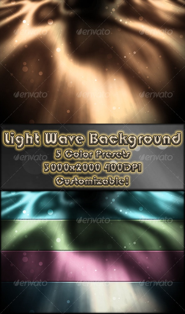 Light Wave Ripple Background - Backgrounds Graphics